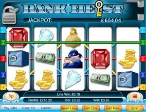 Bank Heist 5-reel