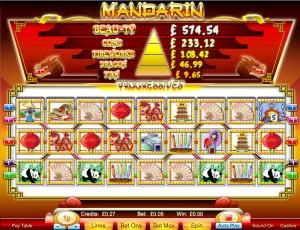 Mandarin 9-Reel Slots