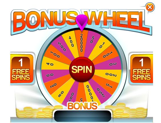 All New Free Bonus Wheel!