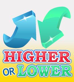 Higher or Lower | Gina Bingo