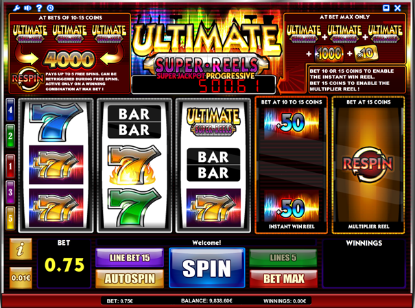 Ultimate Super Reels Slots - Play Now with No Downloads